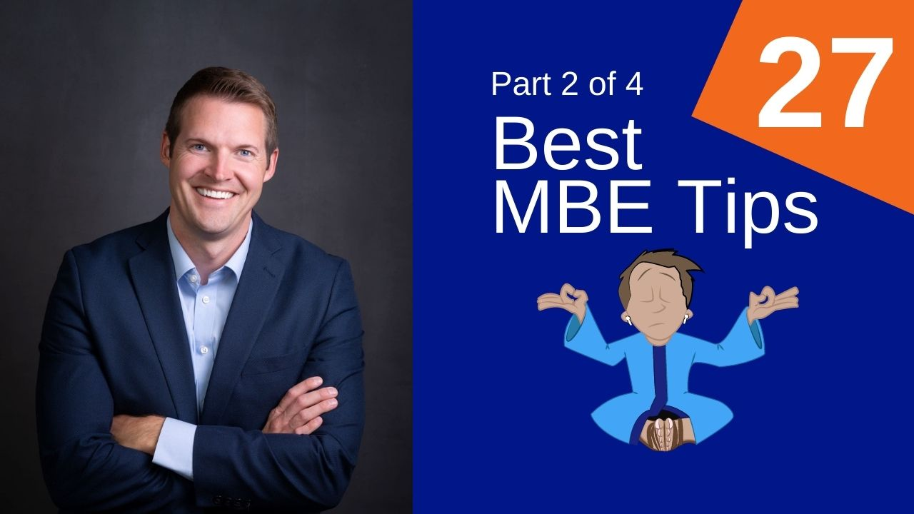 27 MBE Tips