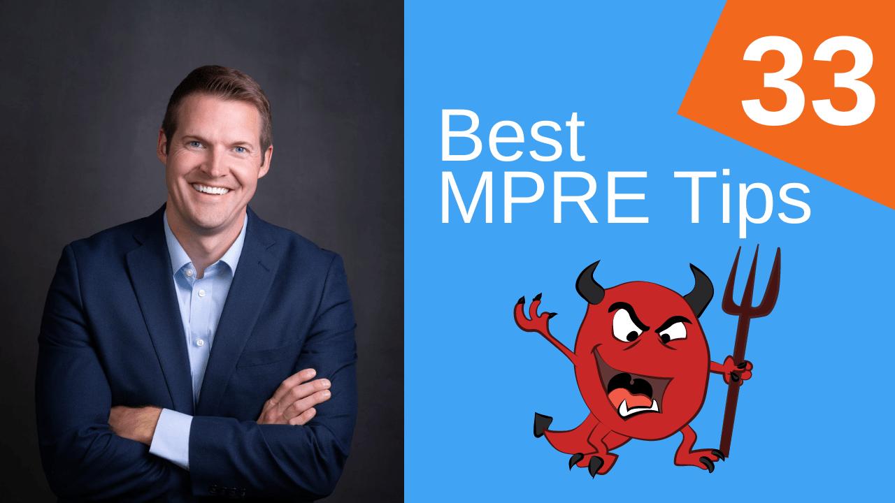 33 Best MPRE Tips