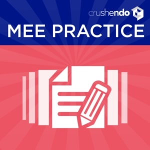 MEE Practice Questions NCBE