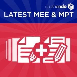 Most-recent-MEE-MPT-Questions