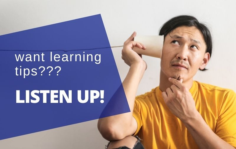 auditory learners listen up