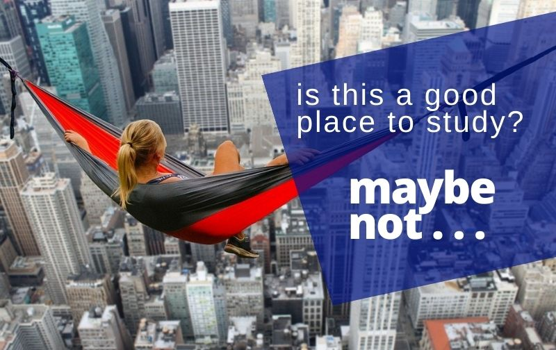 best places to study for the bar exam hammock