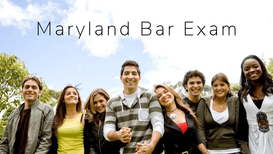 maryland bar exam