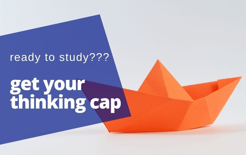 origami brain games thinking cap study
