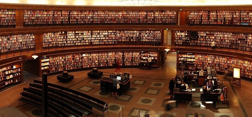 places to study for the bar exam library