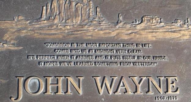 write your own epitaph john wayne