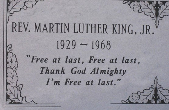 write your own epitaph martin luther king jr
